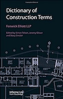 Cover of Dictionary of Construction Law Terms