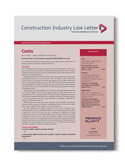 Construction Industry Law Letter