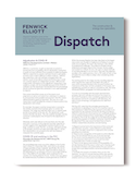 Cover of Dispatch newsletter