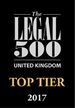 The Legal 500 Top Tier logo