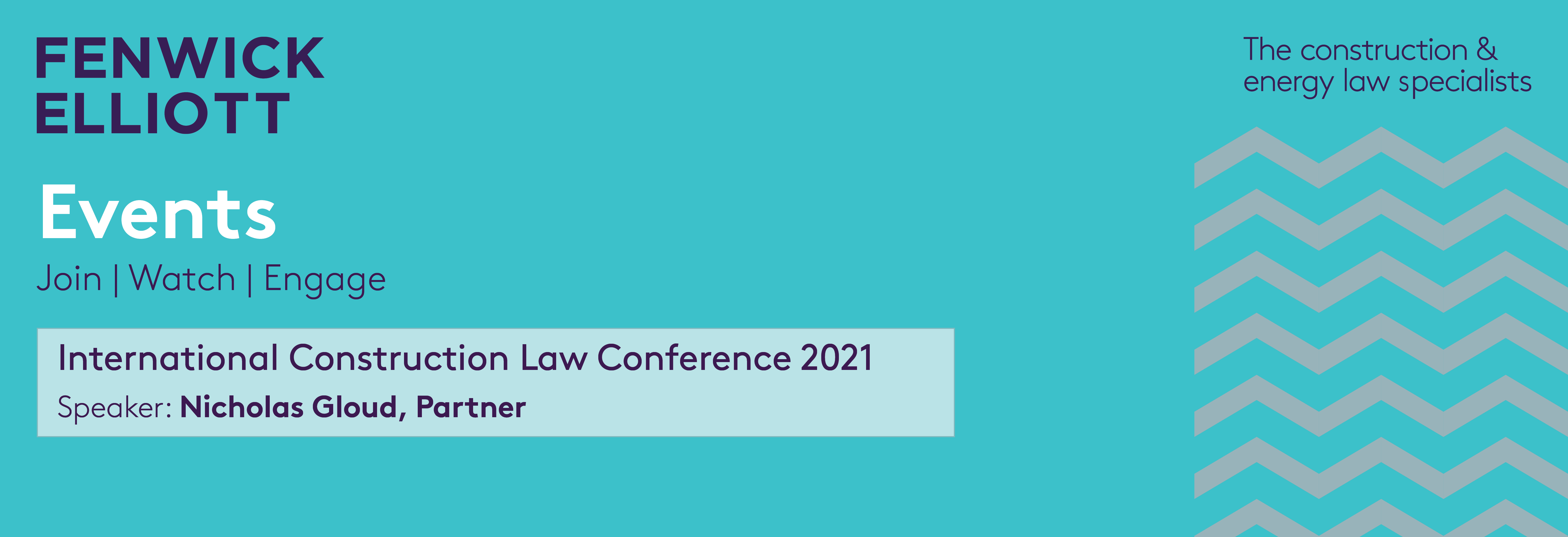 International Construction Law Conference 2021 banner