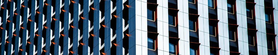 Designed apartment block