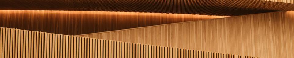 Golden Wood External Building Cladding