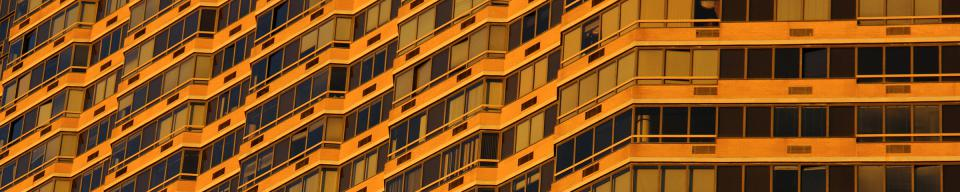 Orange Office Building cladding
