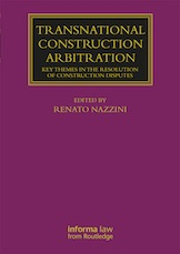 Cover of Transactional Construction Arbitration book
